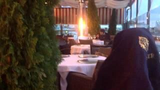 Ресторан варвары, веранда