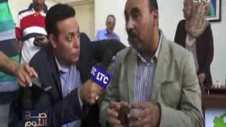 الغيطى يُداعب د.خالد حمزه