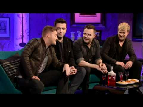 Westlife funny interview on Alan Carr Chatty Man 6th November 2011