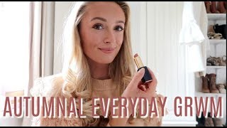 AUTUMNAL GRWM // EVERY DAY MAKEUP AND HAIR ROUTINE // FASHION MUMBLR