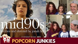 Mid90s Official Trailer - Nadia Sawalha & Family Reaction & Review