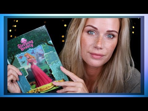 ASMR 😴 Sleeping Beauty 📖 Story Book Reading (whisper and soft spoken)