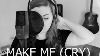 michela dybdal make me cry cover by noah cyrus ft labrinth