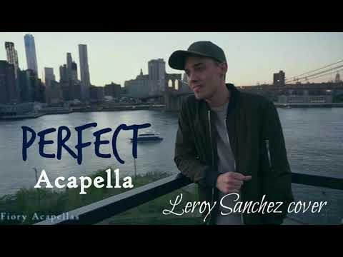Leroy Sanchez  - Perfect (Ed Sheeran Cover) (Acapella/Voice Only)