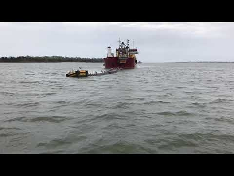 SHEP: the Padre Island hopper dredge