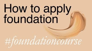How To Apply Foundation - Lisa Eldridge