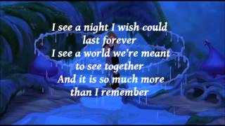 Quest for Camelot - Looking through your eyes - Lyrics