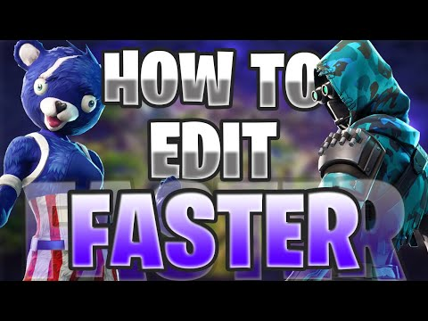 FORTNITE How To Edit Faster PC/Console/PS4 (Settings, Stairs, Tips & Tricks)