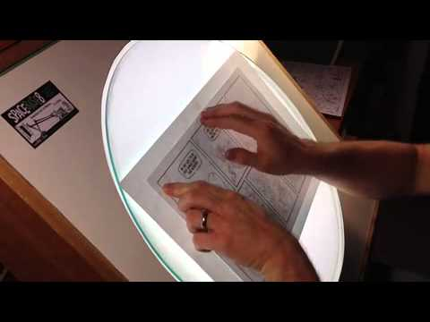 rotating light table - youtube