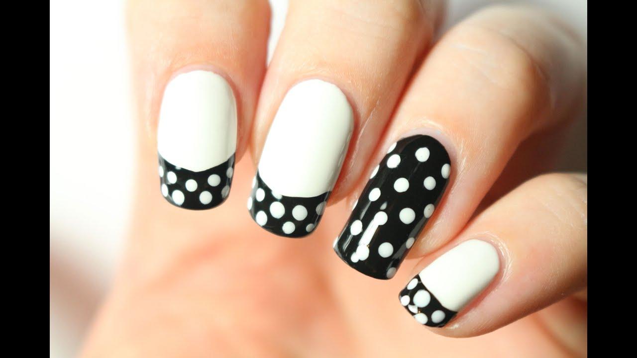nail art a pois
