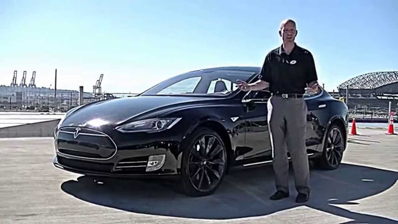2013 tesla model s p85 review we review the tesla performance interior 0 60 and more youtube. Black Bedroom Furniture Sets. Home Design Ideas
