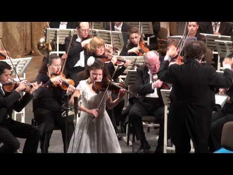Anna Savkina plays Glazunov - Violin concerto in A minor  Op.82