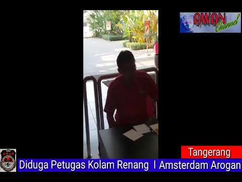 Diduga Petugas Kolam Renang I Amsterdam Arogan