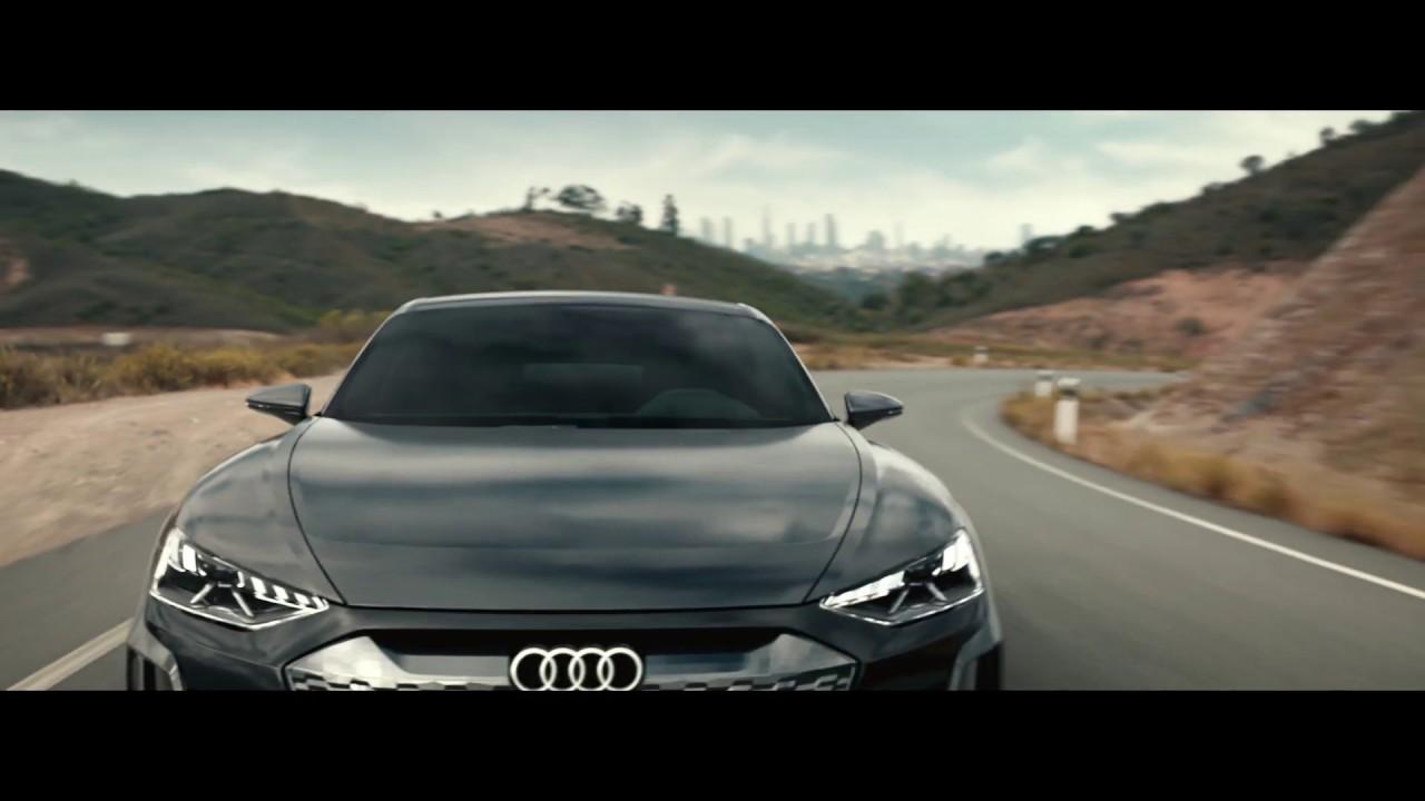 Audi Press Trailer The Audi E Tron Gt Concept Youtube