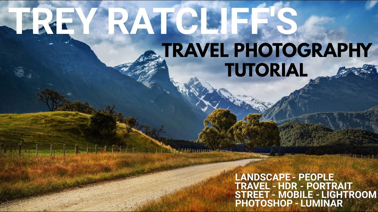 Trey ratcliff's landscape and travel photography tutorial series.