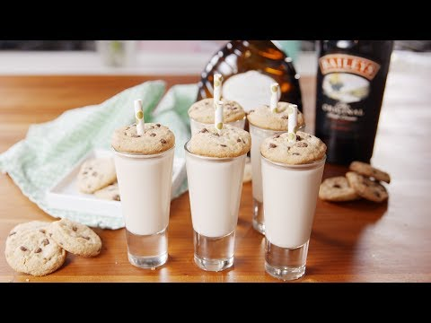 Chocolate Chip Cookie Shooters  Delish