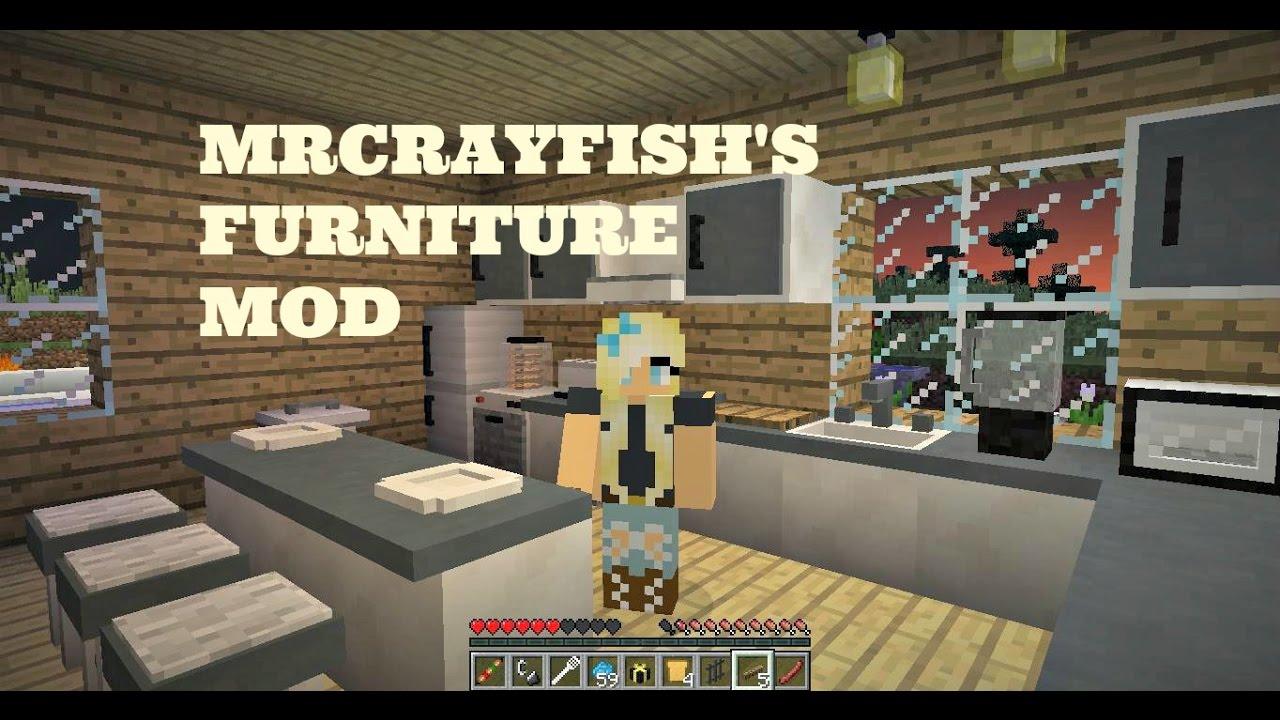 Mrcrayfishs furniture 1 11 2 minecraft mod showcase