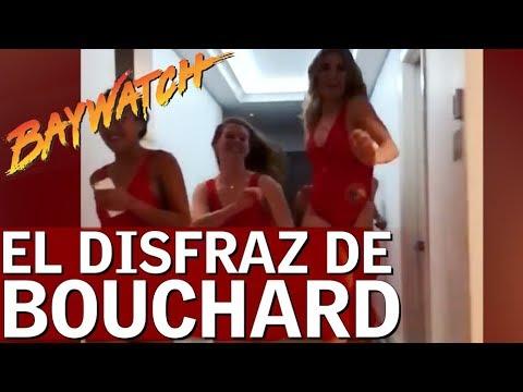 Bouchard se disfraza de Pamela Anderson en Baywatch |Diario AS
