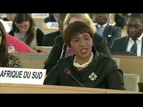 South Africa compares Israel to Nazis, cites Rabbi in UNHRC Gaza debate