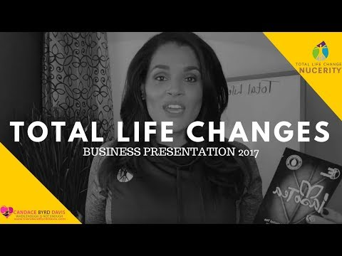 Total Life Changes Presentation 2017 | TLC Business| Legit Work From Home | Candace Byrd Davis