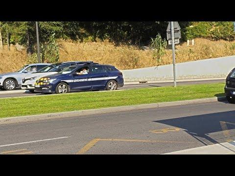 Gendarmerie en intervention + Police Municipale // French police responding