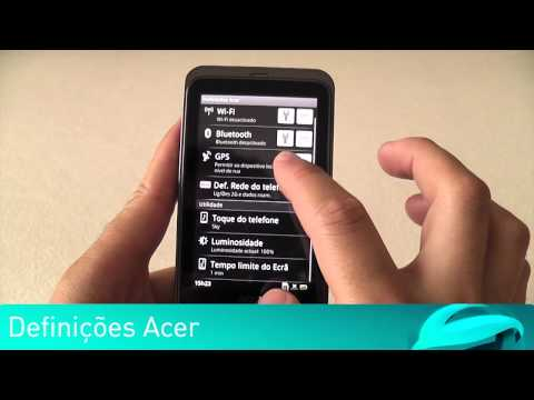Teste Acer Stream - Software