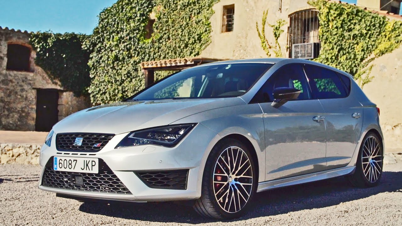 test drive 2016 seat leon cupra 290 youtube. Black Bedroom Furniture Sets. Home Design Ideas
