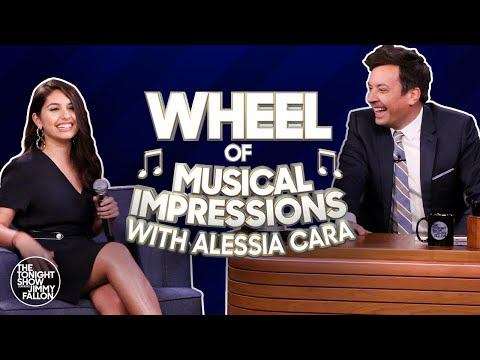 image for Alessia Cara vs Jimmy Fallon Wheel Of Musical Impressions Rematch