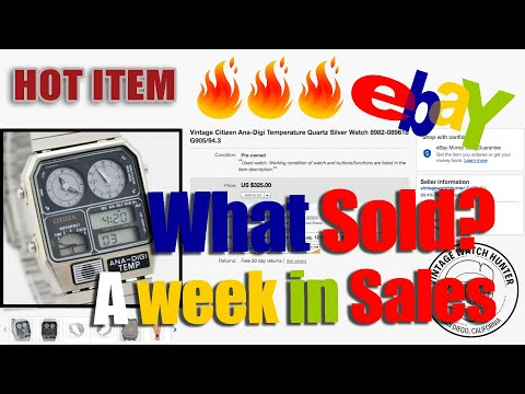 A Week In Watch Sales On EBAY: What We Sold In August
