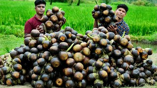 PALM FRUIT SARBATH | TENDER PALM FRUIT DRINK | Our Village Traditional Healthy Drink