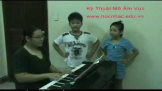 www.hocnhac.edu.vn, Thanh Nhạc, Kỹ Thuật Mở Âm vực - Luyện Thanh