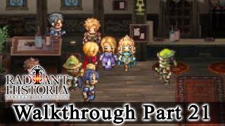 Radiant Historia: Perfect Chronology Walkthrough Part 21: Princess Eruca (HQ) No Commentary