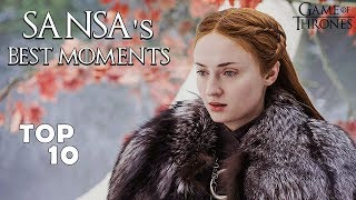 Sansa (Lady of Winterfell) Top 10 Best Moments | Game of Thrones