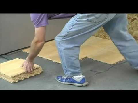 basement flooring max tile installation greatmats youtube