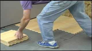 Basement Flooring - Max Tile Installation - Greatmats
