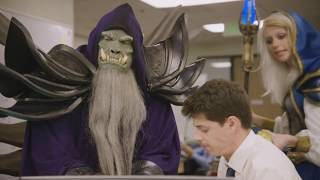 Hearthstone: Mulligans   Episode 3 – Gul'dan Selects a Queen [RUS] (РУССКАЯ ОЗВУЧКА)