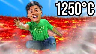Extreme Floor Is Lava - $10,000 Challenge 9,999,99%