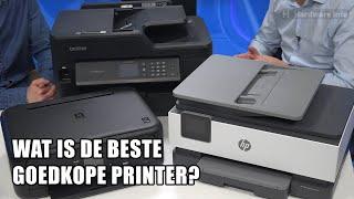 Wat is de beste goedkope printer?