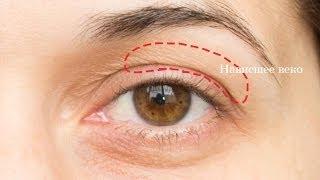видео макияж глаз с нависшим веком