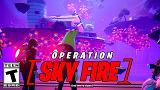 Fortnite Opeartion Sky Fire Live Event (Full Gameplay)