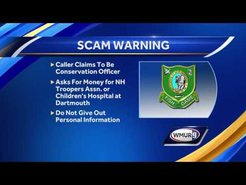NH Fish And Game Warns Of Scam
