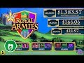 ⭐️ New - Royal Armies slot machine, bonus