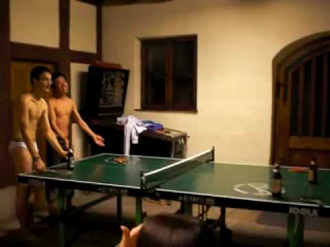 Stripping pong maggie