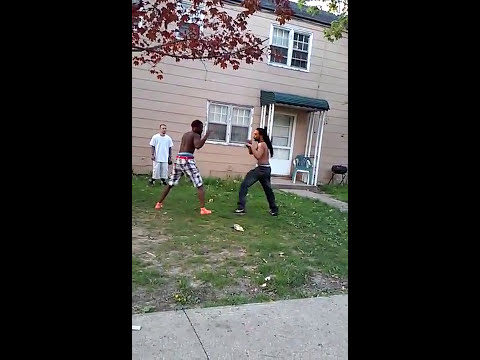 Akron ghetto fight