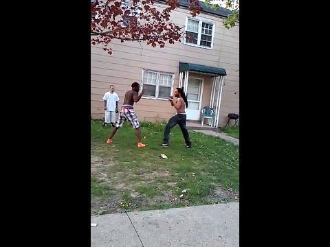 Akron ghetto fight
