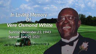 Celebrating The Life of Vere Osmond White