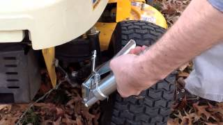 how to lubricate a tractor