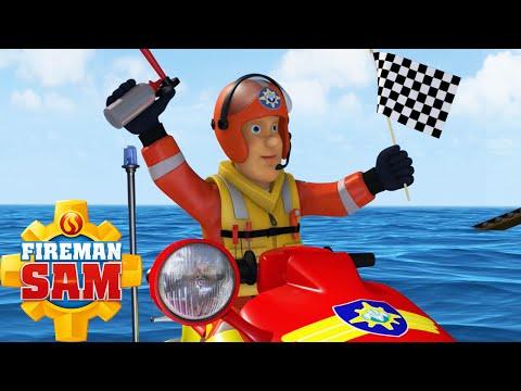 Fireman Sam Full Episode 2016 - Ocean Rescue ! 🌊⚓