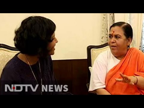 Have respect and sympathy for Sonia Gandhi, says minister Uma Bharti