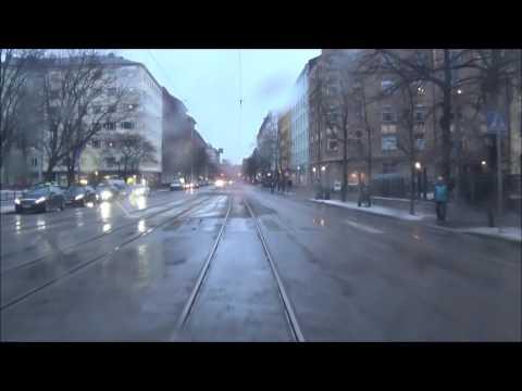 Helsingin Raitiolinja 8. Helsinki Tramline 8.